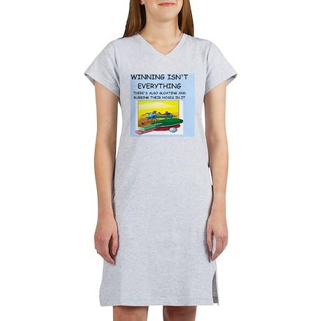 table tennis Women's Nightshirt