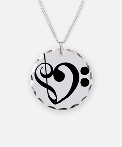 Musical-Heart Necklace