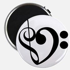 Musical-Heart Magnet
