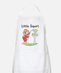 fireman little squirt Apron