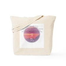 Reiki Principles Tote Bag