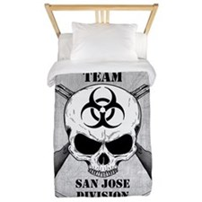 Zombie Response Team San Jose Twin Duvet