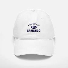 Property of armando Baseball Baseball Cap
