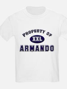 Property of armando Kids T-Shirt