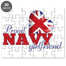 Proud Navy Girlfriend Puzzle