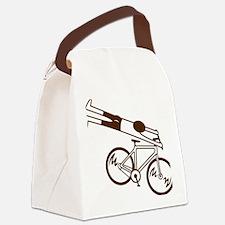 mtb ride fast mud Canvas Lunch Bag