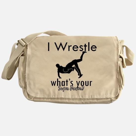 wrestle-freestyle Messenger Bag
