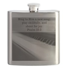 Piano - mouse pad Flask