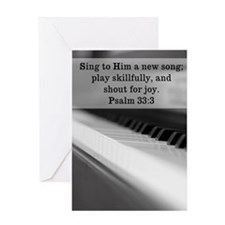 Piano - mouse pad Greeting Card