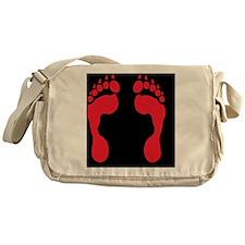 werewolf-track-red-FF Messenger Bag
