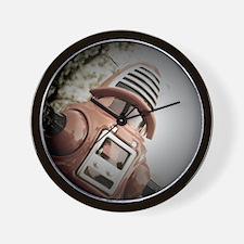 Retro Toy Robby Robot 02 Wall Clock