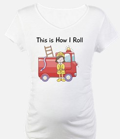 firefighter girl this is how I r Shirt