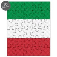 Flag of Italy Flip Flops Puzzle