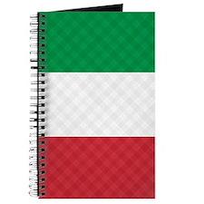 Flag of Italy Flip Flops Journal