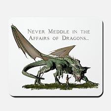 dragonshirt2 Mousepad