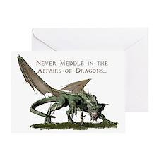 dragonshirt2 Greeting Card