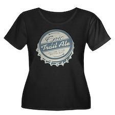 epic tra Women's Plus Size Dark Scoop Neck T-Shirt