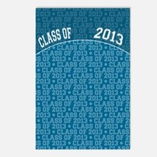 flip_flops_class_of_2013 Postcards (Package of 8)