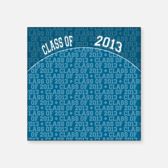 "flip_flops_class_of_2013 Square Sticker 3"" x 3"""