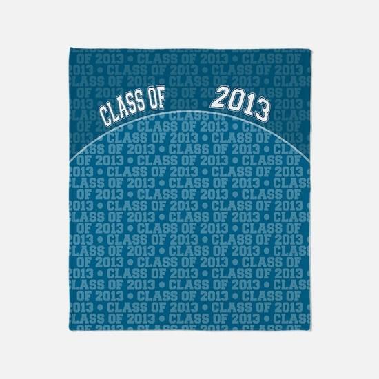 flip_flops_class_of_2013 Throw Blanket