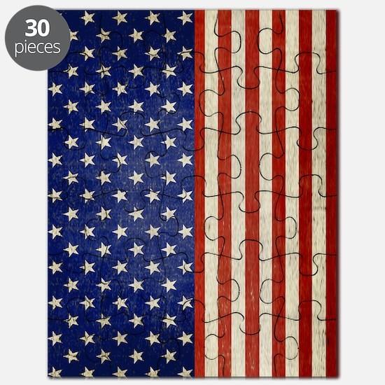 flip_flops_antique_american_flag Puzzle