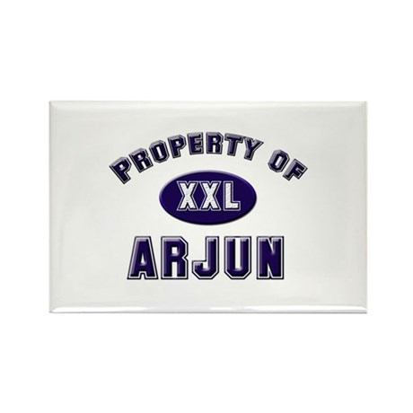 Property of arjun Rectangle Magnet