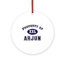 Property of arjun Ornament (Round)