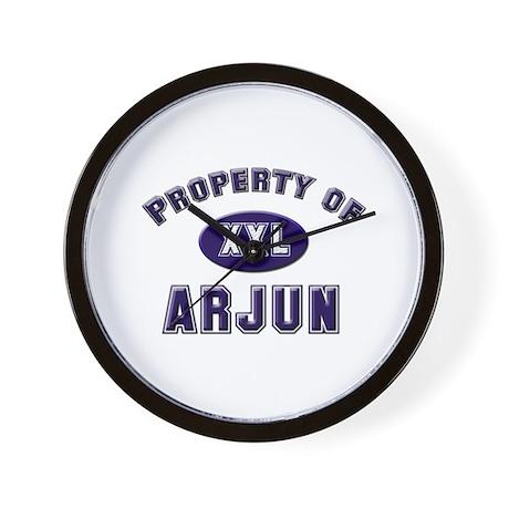Property of arjun Wall Clock