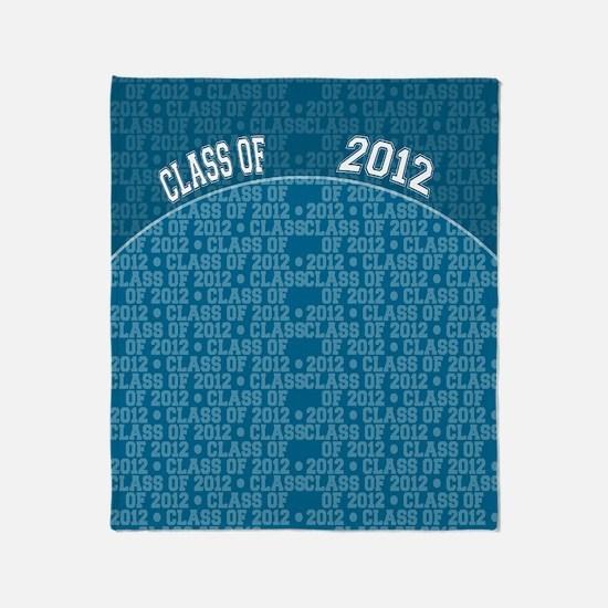 flip_flops_class_of_2012 Throw Blanket
