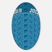 flip_flops_class_of_2012 Sticker (Oval)