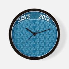 flip_flops_class_of_2012 Wall Clock