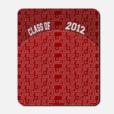 flip_flops_class_of_2012_red Mousepad