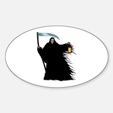 Death Oval Decal