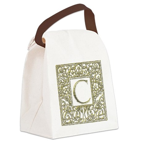 Monogram C Canvas Lunch Bag