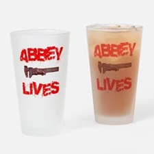 abbey_lives Drinking Glass