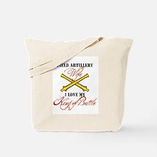 Cute Soldier field Tote Bag