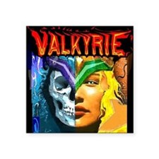 "photo valkyrie TSHIRT Square Sticker 3"" x 3"""