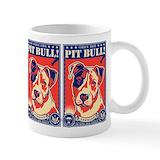 Pit bull Coffee Mugs