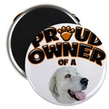 Proud Owner of a Great Pyrenees Magnet