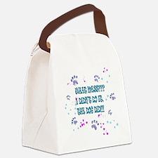 DogDidntDoIt Canvas Lunch Bag