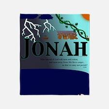 Jonah Poster Throw Blanket