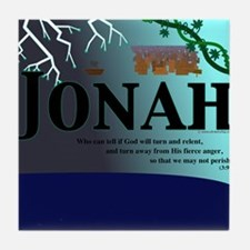 Jonah Poster Tile Coaster