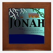 Jonah Poster Framed Tile