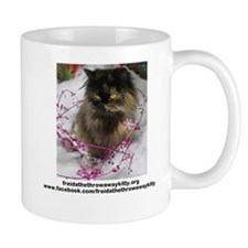 Freida, the throw away kitty Mug