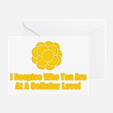 despise Greeting Card