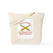 Field Artillery Daddy Tote Bag