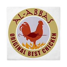 pal-chicken Queen Duvet