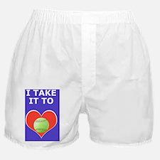 Softball Itouch4 iPod Hard Case, Take Boxer Shorts