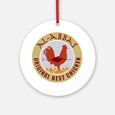 pal-chicken Round Ornament