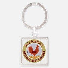 pal-chicken Square Keychain